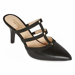 Liz Claiborne Harpeth Pull-on Pointed Toe Pumps 9
